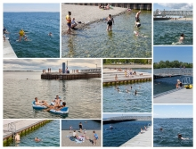 The soul of the beach and pier is the magical and irresistible encounter with the water, universally accessible for all