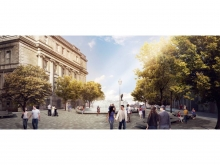 The square's attractiveness is further enhanced by the reconstruction of a multi